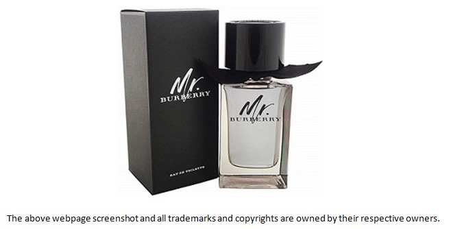 mr burberry fragrance sample